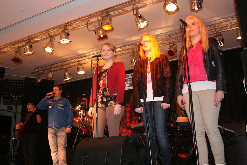 Carsten, Maik, Michaela, Jantje und Laura