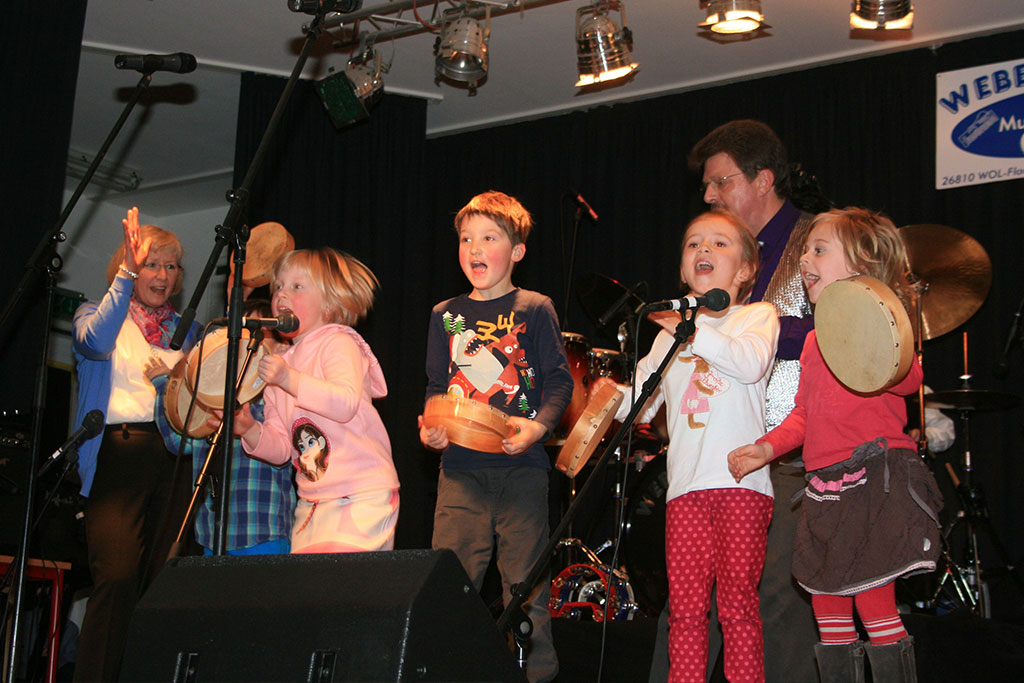 Rita, Robin, Amelie, Tammo, Maira, Wolfgang und Josefine