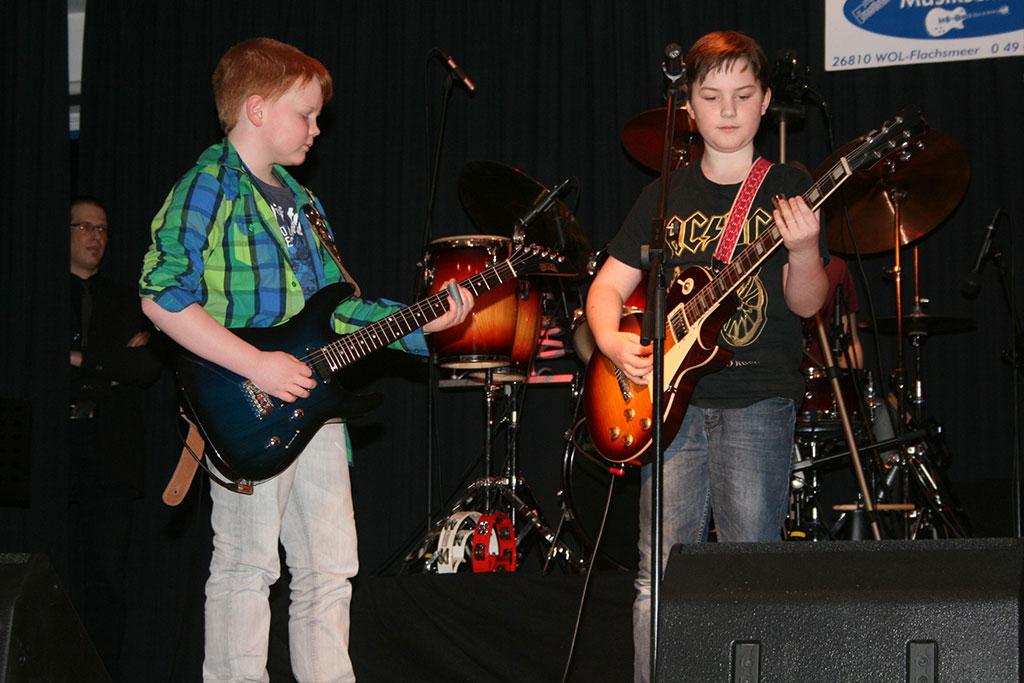 Jann, Thorben und Finn