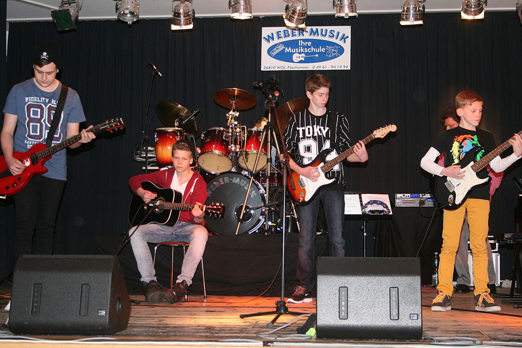Marcel, Mathis, Neels und Jannek